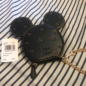 Coach X Disney collection Mickey Wallet